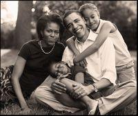 Barack obama family 2006