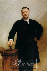Theodore roosevelt white house portrait