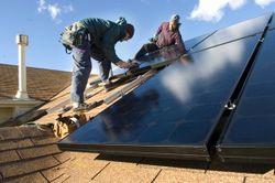 Namaste solar panel installation