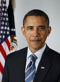 Obama presidential portrait
