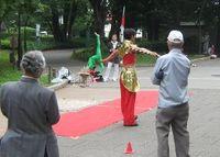 Ueno park jugglers