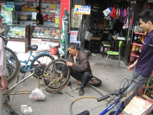 Chengdu bike shop