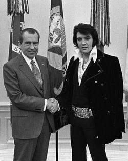 Nixon-elvis