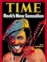 Springsteen 1975 time cover