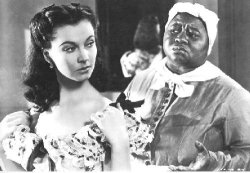 Leigh and mcdaniel gone with the wind