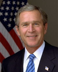 George w bush official portrati