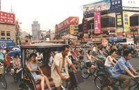 Chengdu_China street scene