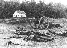 Battle of antietam by matthew brady