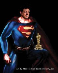 Al gore as superman