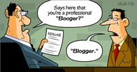 Booger-blogger