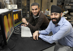 Iowa state solar researchers chaudhary and singh