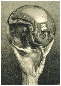 Escher-crystal-ball