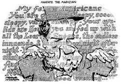 Nixon_as magician cartoon
