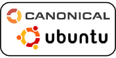 Canonical-logo with ubuntu