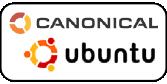 Canonical-logo with ubuntu