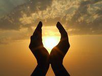 Sunlight-hands