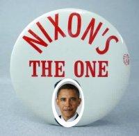 Nixon obama morph