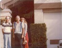 Dana Fred and Tracey Blankenhorn 1979