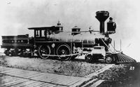 Railroad train 1900s
