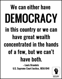 Brandeis on wealth