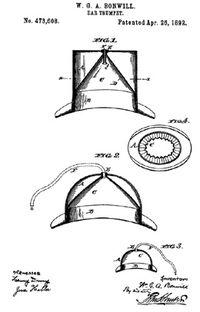 19th century hatpatent