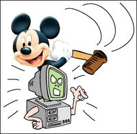 Mickey mouse as luddite
