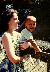 Barack obama and mother