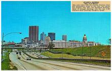 Atlanta skyline 1966