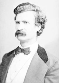 Mark twain by joseph haworth