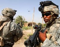 American soldiers in iraq