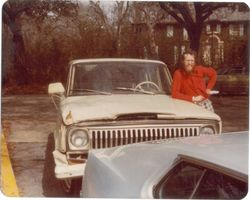 Dana and his Jeep in 1976