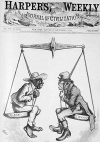 Harpers 1876 racist cover