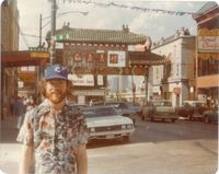 Dana at chicago chinatown 1978