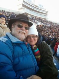 Dana and jenni at liberty bowl