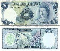 Cayman island banknotes