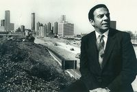 Andrew Young and Downtown Atlanta 1980