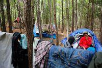Cobb encampment