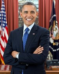 Obama second term portrait