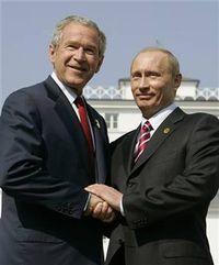 Bush and putin