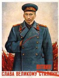 Putin as stalin