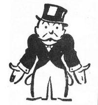 Monopoly man-broke