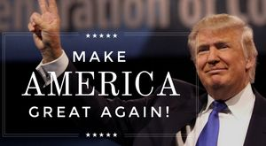 Donald trump make america great