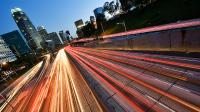 Freeway-lights-in-motion