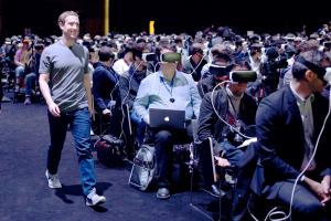 Zuckerberg and vr headsets