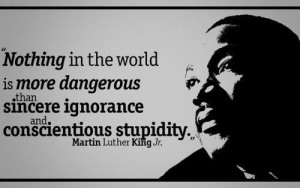 Mlk on ignorance