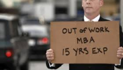 Out of work mba