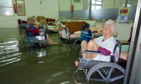 Flooded nursing home