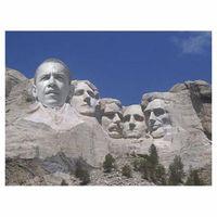 Obama on mt rushmore
