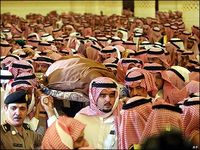 Saudi family members from the bbc