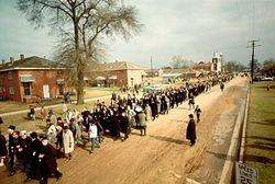 Civil rights selma march